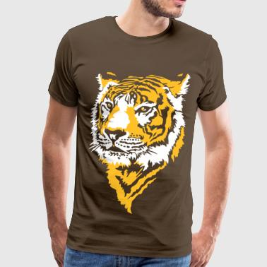 Tiger Stripes Tiger, Tigre - Men's Premium T-Shirt