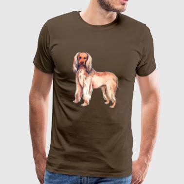 Greyhound afghan - T-shirt Premium Homme