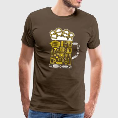 Beer Beer Craft Beer - Camiseta premium hombre