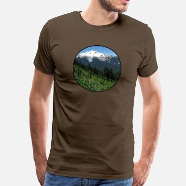 Nature - Mountains - Forest - Photography - Cool T - Camiseta premium hombre