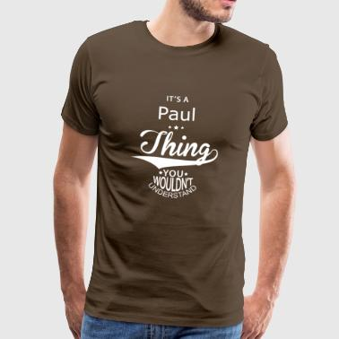 Paul - Premium T-skjorte for menn