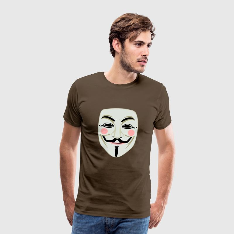 Joker mask - Men's Premium T-Shirt