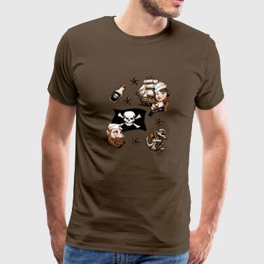 Sailor love tattoo - Camiseta premium hombre
