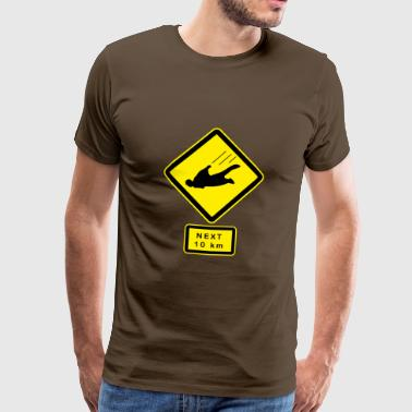 Keep out ! Skydivers Tee shirts - Men's Premium T-Shirt