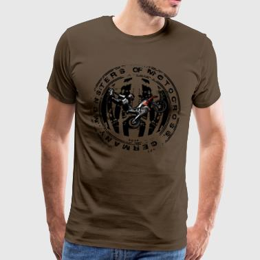 stempel Monsters of Motocross Black Bike - Männer Premium T-Shirt