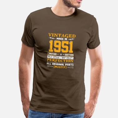 1951 Vintaged Made In 1951 Limited Editon - T-shirt Premium Homme