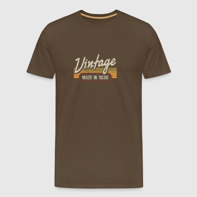 Vintage MADE IN 1938 - Men's Premium T-Shirt