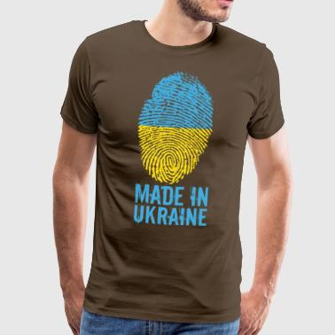 Made in Ukraine / Made in Ukraina Україна - Miesten premium t-paita