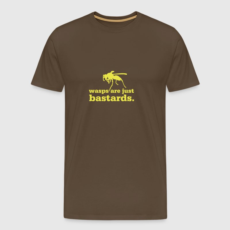 Wasps are just bastards - Men's Premium T-Shirt