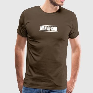 Man of god - Men's Premium T-Shirt
