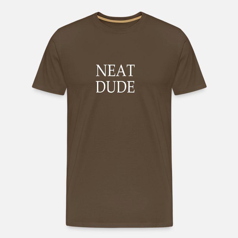 Neat Dude Weiss Männer Premium T Shirt Spreadshirt