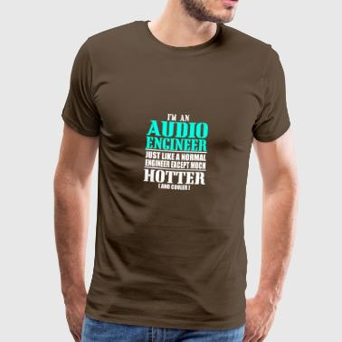 AUDIO ENGINEER - Männer Premium T-Shirt