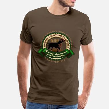 Kurzhaar german_shorthaired_pointer_htr - Men's Premium T-Shirt