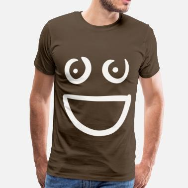 Titten Smiley Titty Smiley - Männer Premium T-Shirt