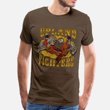 Pheasant Hunting upland_fighters - Men's Premium T-Shirt