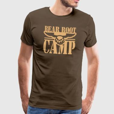 BEAR BOOT CAMP 1 - T-shirt Premium Homme