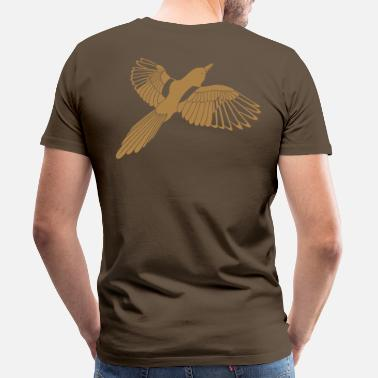 Simple Magpie - Men's Premium T-Shirt