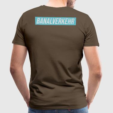 Banal traffic youth word candidate - Men's Premium T-Shirt