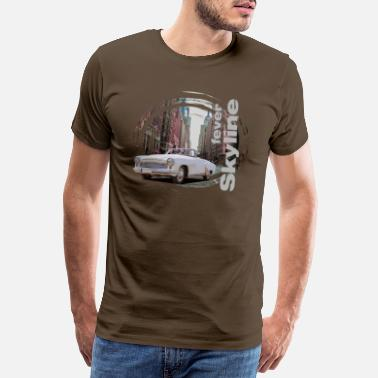 Shield T Shirt WaBu Vintage Shield 17 - Männer Premium T-Shirt