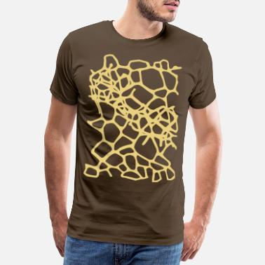 Animal Print Giraffe Print 2 - Men's Premium T-Shirt