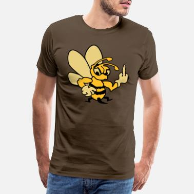 Wasp Wasp Flipping - Men's Premium T-Shirt