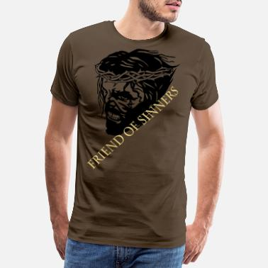 Heaven JESUS scream - Männer Premium T-Shirt