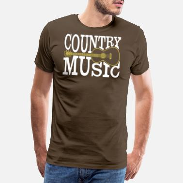 Country Music country music - Männer Premium T-Shirt