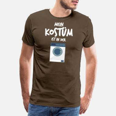 Kostuum Mijn kostuum is in de was - Mannen premium T-shirt