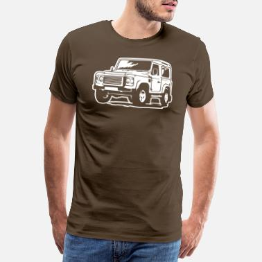 Land Defender (Differenzbild) - Men's Premium T-Shirt