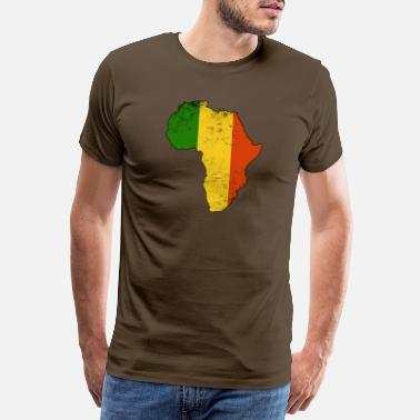 Reggaeton Africa country reggae - Men's Premium T-Shirt