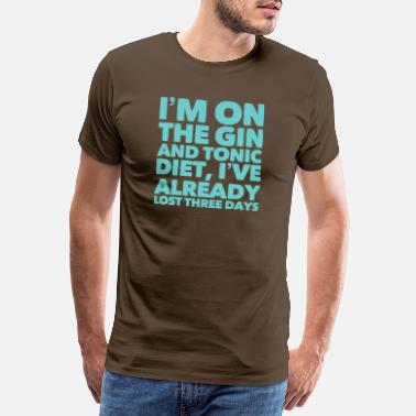 Gin And Tonic Gin and Tonic - Men's Premium T-Shirt