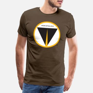 PERISTALSIS icon - Men's Premium T-Shirt