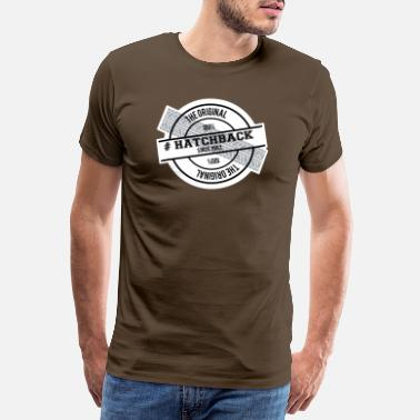Arsch 1982 Hatchback the original - Männer Premium T-Shirt