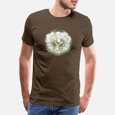 This Shinrin-yoku Art - Tree of Life - Mannen premium T-shirt