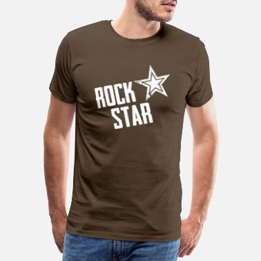 Abrocken rock star - Männer Premium T-Shirt