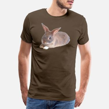 Rabbit Teeth Rabbit - Men's Premium T-Shirt