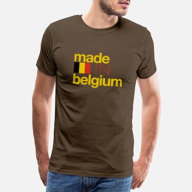 Made In Belgium Made in Belgium - édition spéciale. - T-shirt Premium Homme