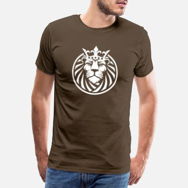 Bravery Lion - Men's Premium T-Shirt