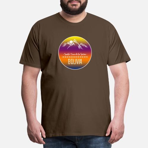 Santa Cruz de la Sierra Bolivia Camiseta premium hombre  d1b4cb289df