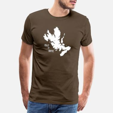 Jagged The Isle of Skye, Western Isles, Hebrides,Scotland - Men's Premium T-Shirt