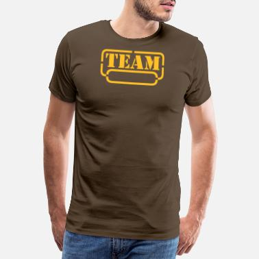 name your team - Männer Premium T-Shirt