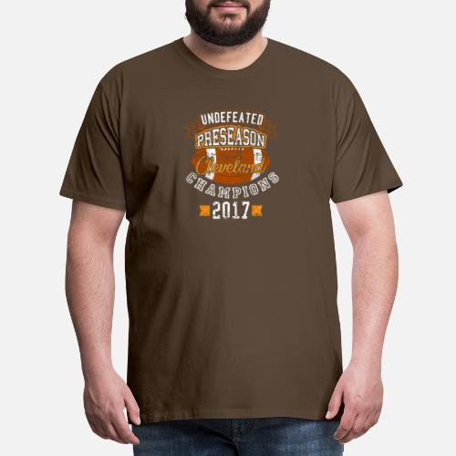 b859385eb3db Undefeated Preseason Cleveland Champions Football Men s Premium T ...
