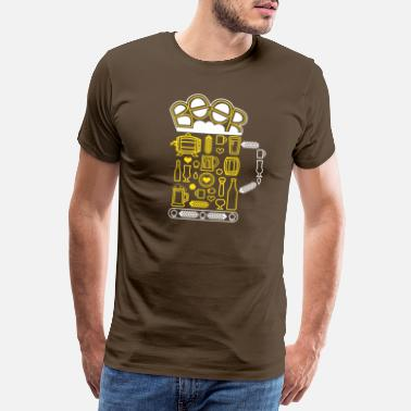 Oktoberfest Beer Beer Craft Beer - Men's Premium T-Shirt