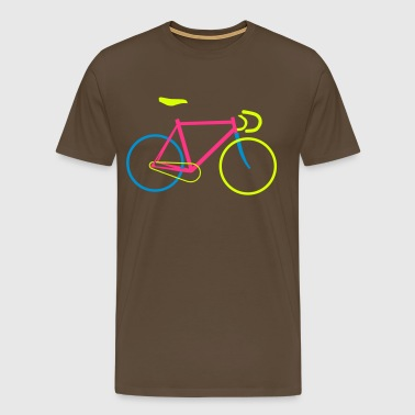 Fixie Bike colored - Männer Premium T-Shirt