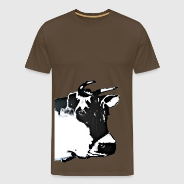 Gina the Muli-cow - Men's Premium T-Shirt