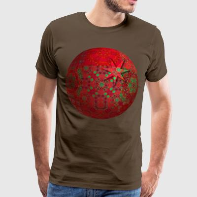 Star in a globe - Premium-T-shirt herr