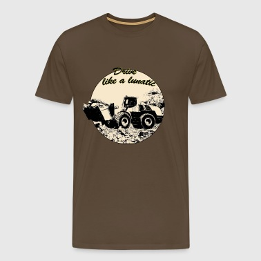 wheel_loader - Männer Premium T-Shirt