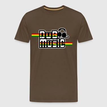 dub music - Men's Premium T-Shirt