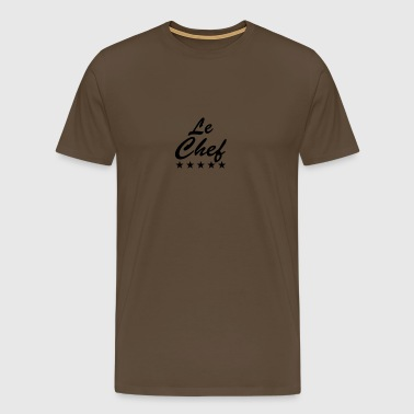 Le Chef Design - Men's Premium T-Shirt