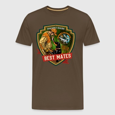best mates - Men's Premium T-Shirt